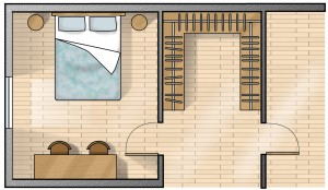 Spazio Minimo Cabina Armadio.Cabina Armadio Soluzione Trendy Livinghouse Italia